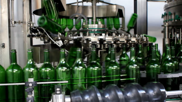 bottling plant - bottling plant stock videos & royalty-free footage