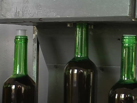 bottling - cork stopper stock videos & royalty-free footage