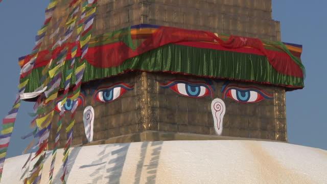 CU Boudhanath Stupa exterior detail / Kathmandu, India