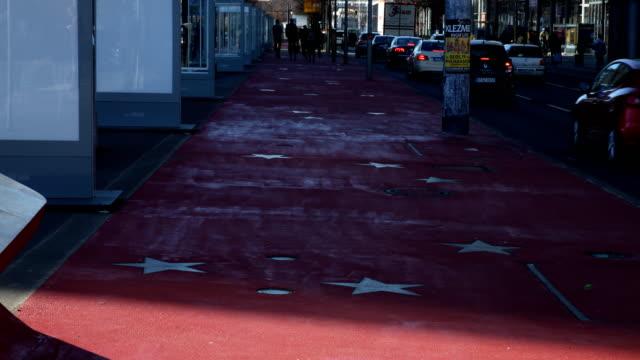 boulevard of the stars at potsdamer platz in berlin - 2010 2019 stock videos & royalty-free footage