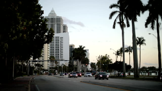 Boulevard on Miami Beach