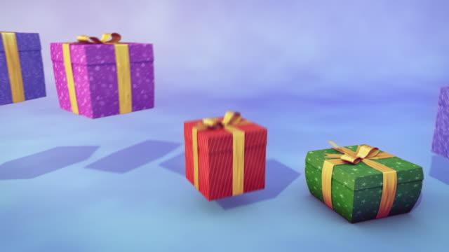 Bouncing gifts - loop