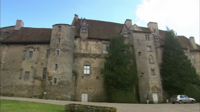 Boussac Castle In France