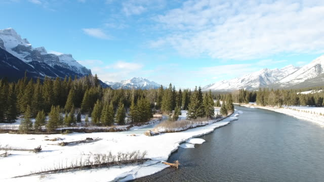 Bow River Aerial Winter 4