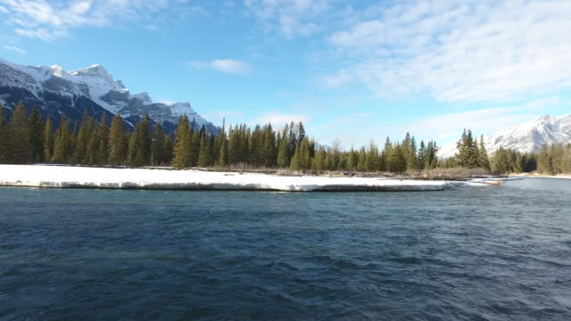 Bow River Aerial Winter 5