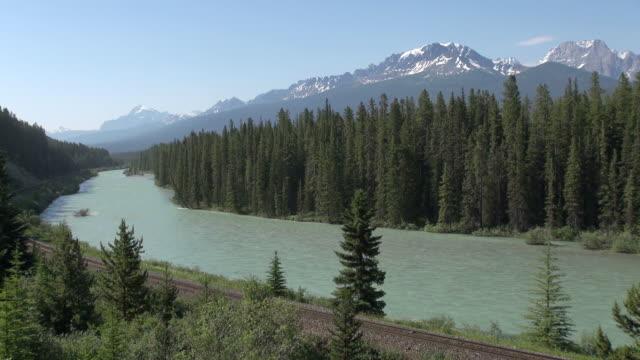 MS Bow River at morants curve / Banff National park, Alberta, Canada