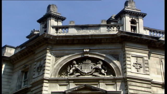 Bow Street Magistrates Court To Close Interior And Exterior Shots ITN London EXT