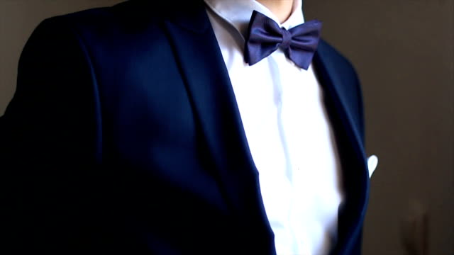 bow tie - formal stock videos and b-roll footage