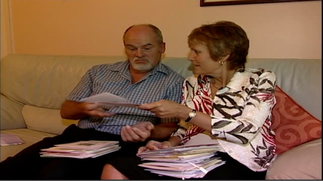 health watchdog recommendations england int shelia christmas and john christmas looking at documents close up of shelia christmas preparing... - pct stock videos and b-roll footage