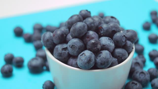 CU Bowl of blueberries / London, UK