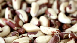 Bowl of Brazil nuts. Healthy and beneficial food