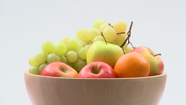 hd: bowl of fruit - fruit bowl stock videos & royalty-free footage