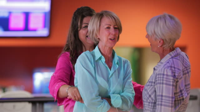 bowling joy - 60 64 years stock videos & royalty-free footage
