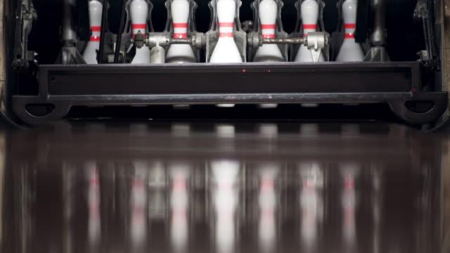 bowling pins - bowl stock videos & royalty-free footage