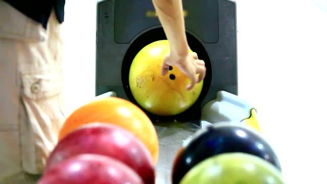 bowling strike - bowling ball stock videos & royalty-free footage