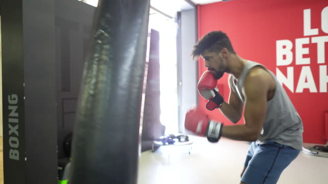 box training - kick boxing stock videos and b-roll footage