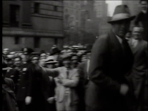 montage boxer max schmeling weighing in before a fight with james braddock / united states - 1937 stock videos and b-roll footage