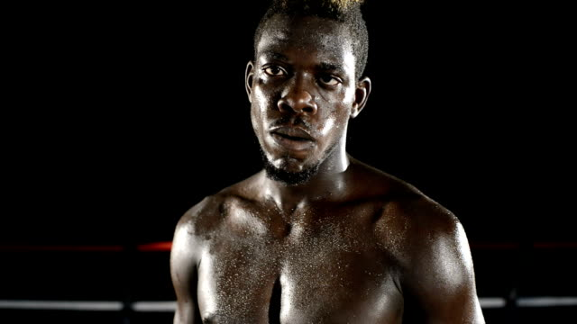 Boxer con guanti