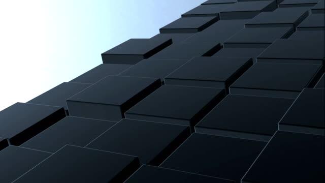 3 d ボックス抽象的な背景 - テンプレート点の映像素材/bロール