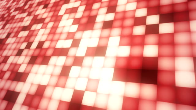 4kボックス赤い抽象的な背景ループ可能 - 投影図点の映像素材/bロール