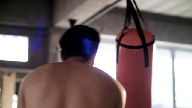 boxing class at the gym - glove fist stock videos & royalty-free footage