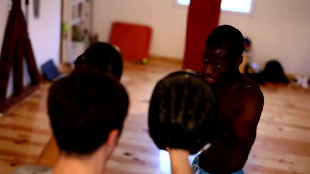 Boxing Class In Dojo