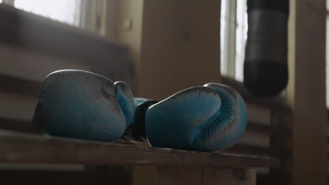 boxing gloves - exercise equipment stock videos and b-roll footage