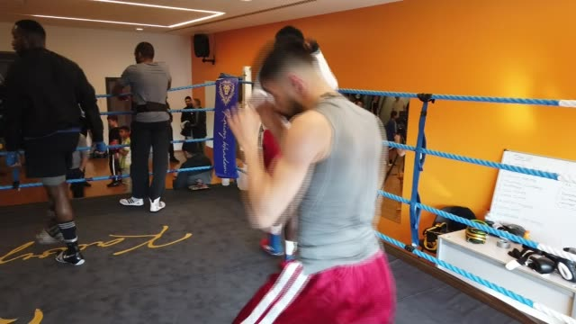 TKO Boxing Gym in Barking reopens after finding new home UK London Barking children and young people training in TKO Boxing Gym closed former gym...