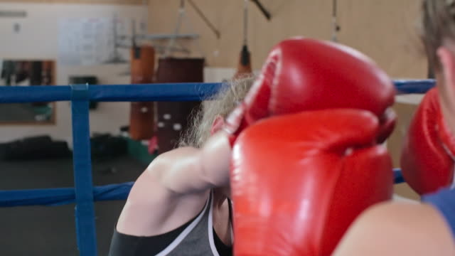 boxing ladies - boxing women's stock videos & royalty-free footage