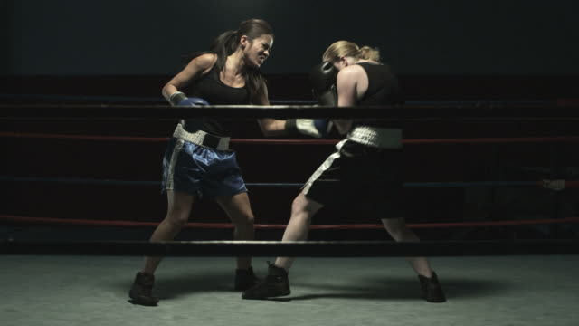 boxing match - competition round stock videos and b-roll footage