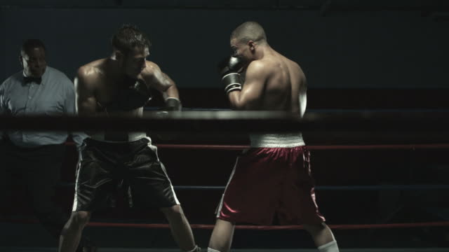 boxing match - boxing stock videos & royalty-free footage