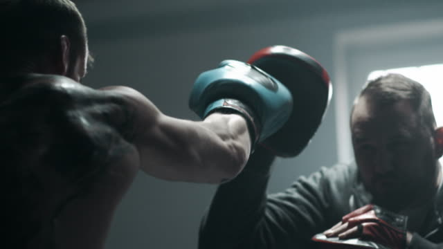 boxing training - boxing stock videos & royalty-free footage
