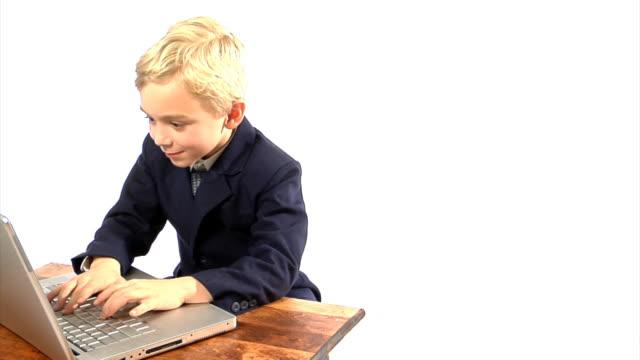 Boy at computer 4
