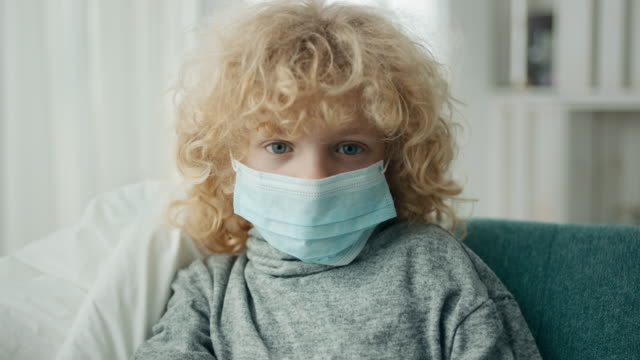 boy in quarantine because corona virus - mask disguise stock videos & royalty-free footage