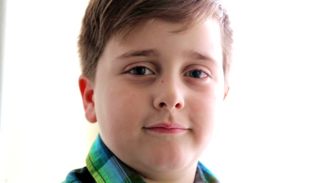boy on white backgroun - baby boys stock videos and b-roll footage