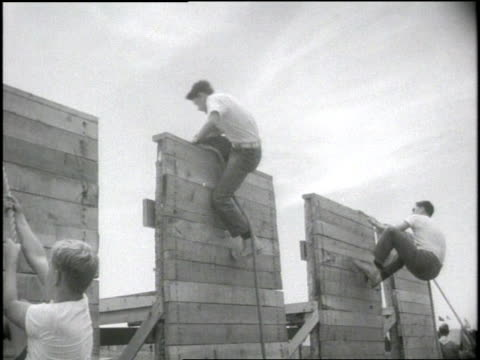 boy scouts compete at a jamboree - boy scouts of america stock videos and b-roll footage