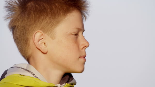 boy - profile stock videos & royalty-free footage