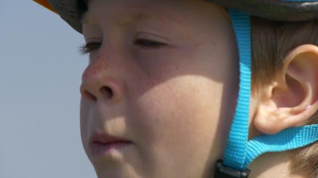 boy - sports helmet stock videos & royalty-free footage