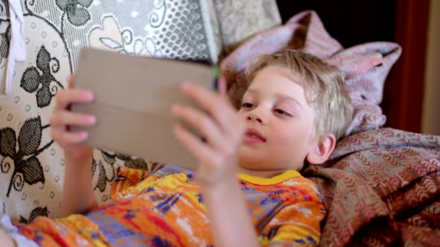 boy with laptop, close up - baby boys stock videos & royalty-free footage