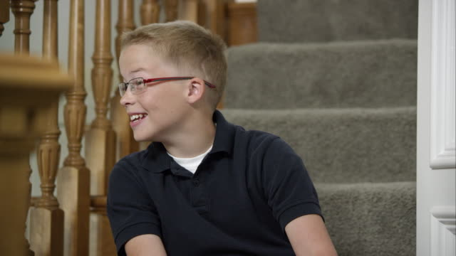 boy with scar on head from birth defect - scar stock videos and b-roll footage
