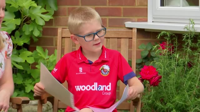boy writes letter to the queen with a puzzle to fill the time during coronavirus lockdown; england: essex: billericay: ext timothy madders interview... - puzzle stock videos & royalty-free footage