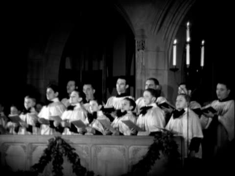 boy's choir - choir stock videos & royalty-free footage