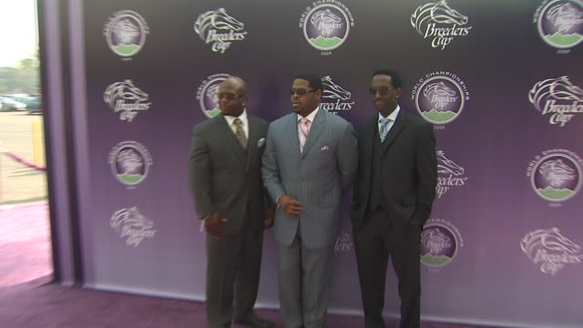 boys ii men at the breeders' cup world thoroughbred championships at arcadia ca - championships stock videos & royalty-free footage