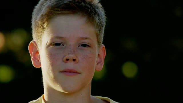 boy's portrait - 12 13 years stock videos & royalty-free footage
