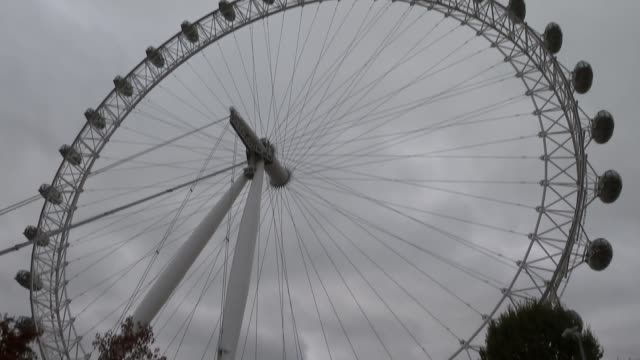 boys rescued from cave in thailand visit london eye england london ext various shots of london eye on an overcast day - thailand stock videos & royalty-free footage