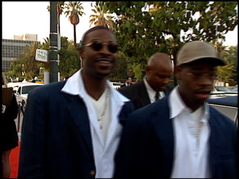 boyz ii men at the blockbuster entertainment awards at pantages theater in hollywood, california on june 3, 1995. - pantages theater stock videos & royalty-free footage