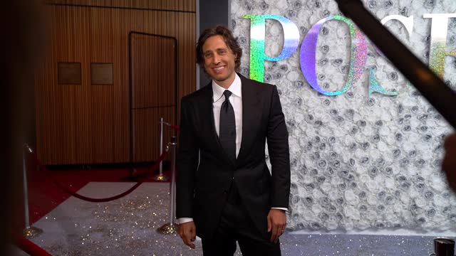brad falchuk at fx pose 3rd and final season red carpet premiere at jazz at lincoln center on april 29, 2021 in new york city. - premiere event stock videos & royalty-free footage