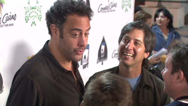 Brad Garrett at the 7th Annual World Poker Tour Invitational at Los Angeles CA