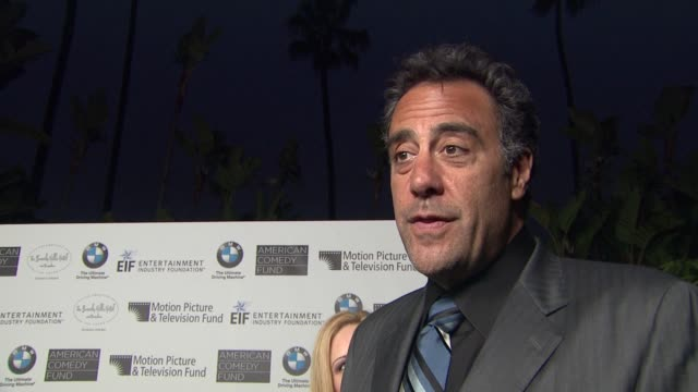 brad garrett on what brings him out, what he loves about bill cosby's comedy and his favorite memories from the beverly hills hotel at the 100th... - beverly hills hotel stock videos & royalty-free footage