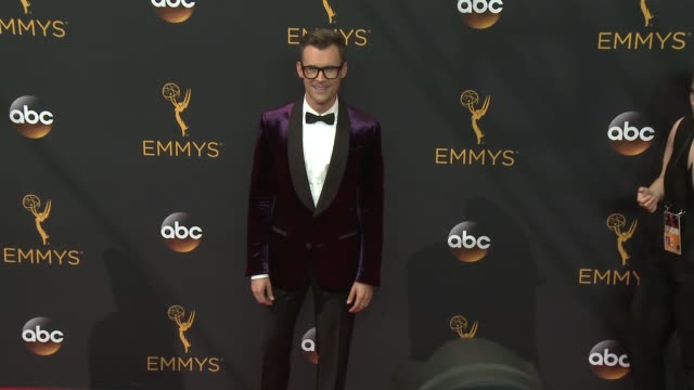 brad goreski at 68th annual primetime emmy awards - arrivals in los angeles, ca 9/18/16 - annual primetime emmy awards stock videos & royalty-free footage